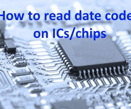 How to read date codes on ICs/chips