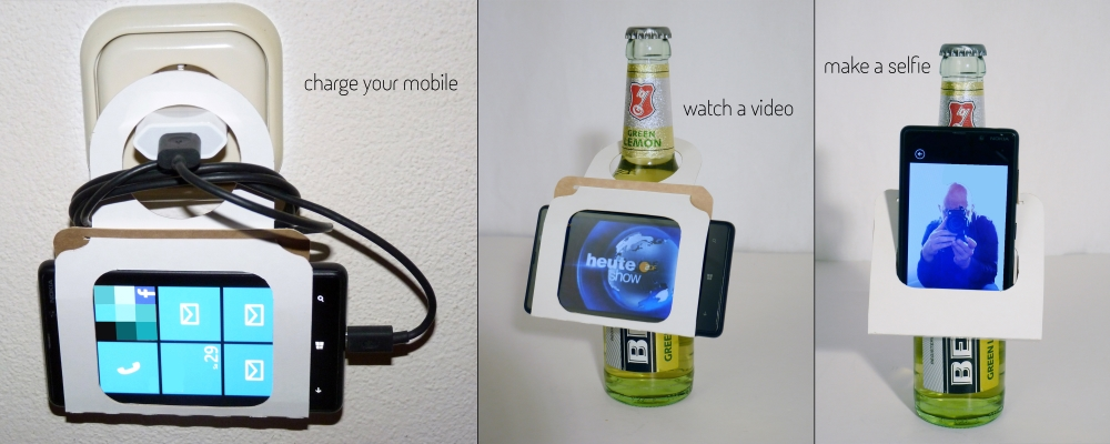 Picture of 3-in-1 Smartphone Holder