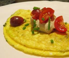 Pesto Egg Omellete Recipe