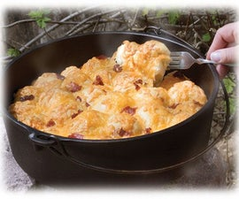 Dutch Oven Bacon Cheese Pull Aparts
