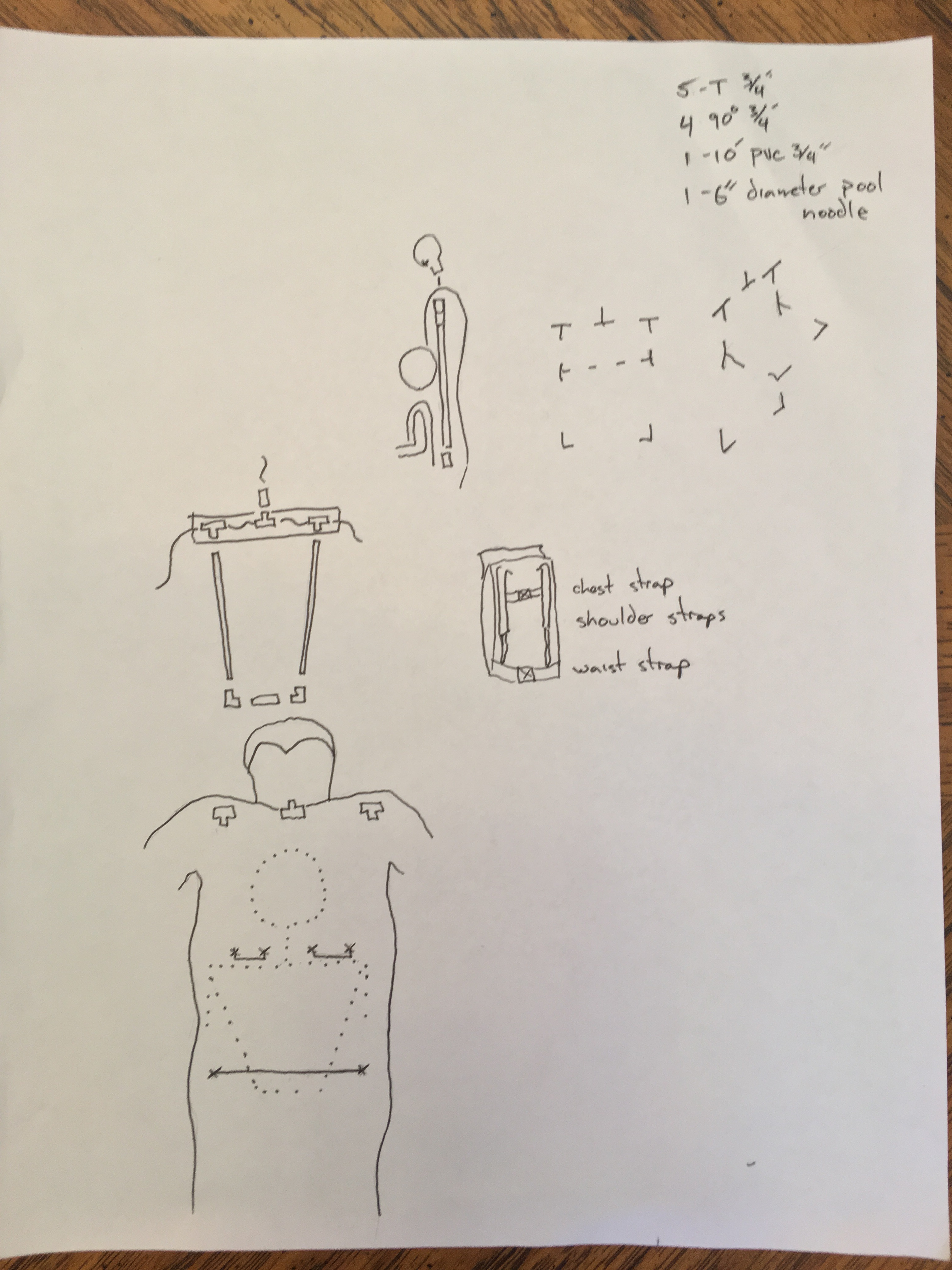 Picture of Concept Drawings and Materials