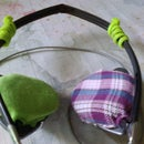 Rejuvinate and personalize your tired headphones with... old pajamas!