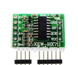 Tutorial to Interface HX711 Balance Module With Load Cell