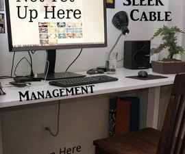 Sleek Cable Management