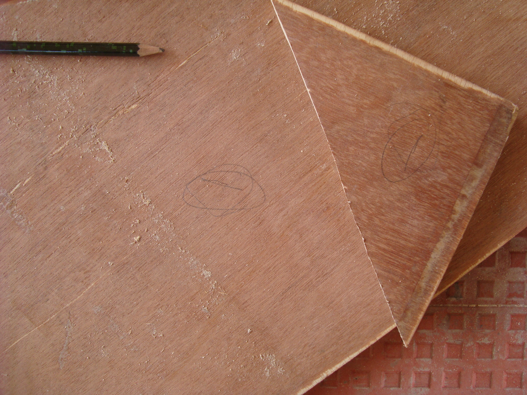 Picture of Cutting the Triangular and Small Pieces