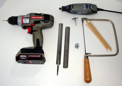 Supplies and Tools Needed