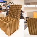 Lasercut Cardboard Chair