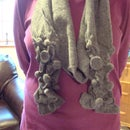ImPRESSionable Felted Wool Scarf