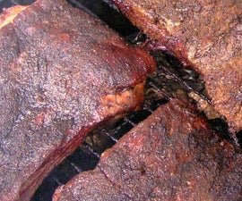 BBQ Ribs low and slow on a smoker