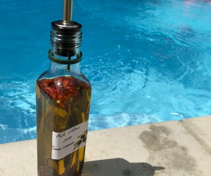 Mediterranean Style Spicy Olive Oil