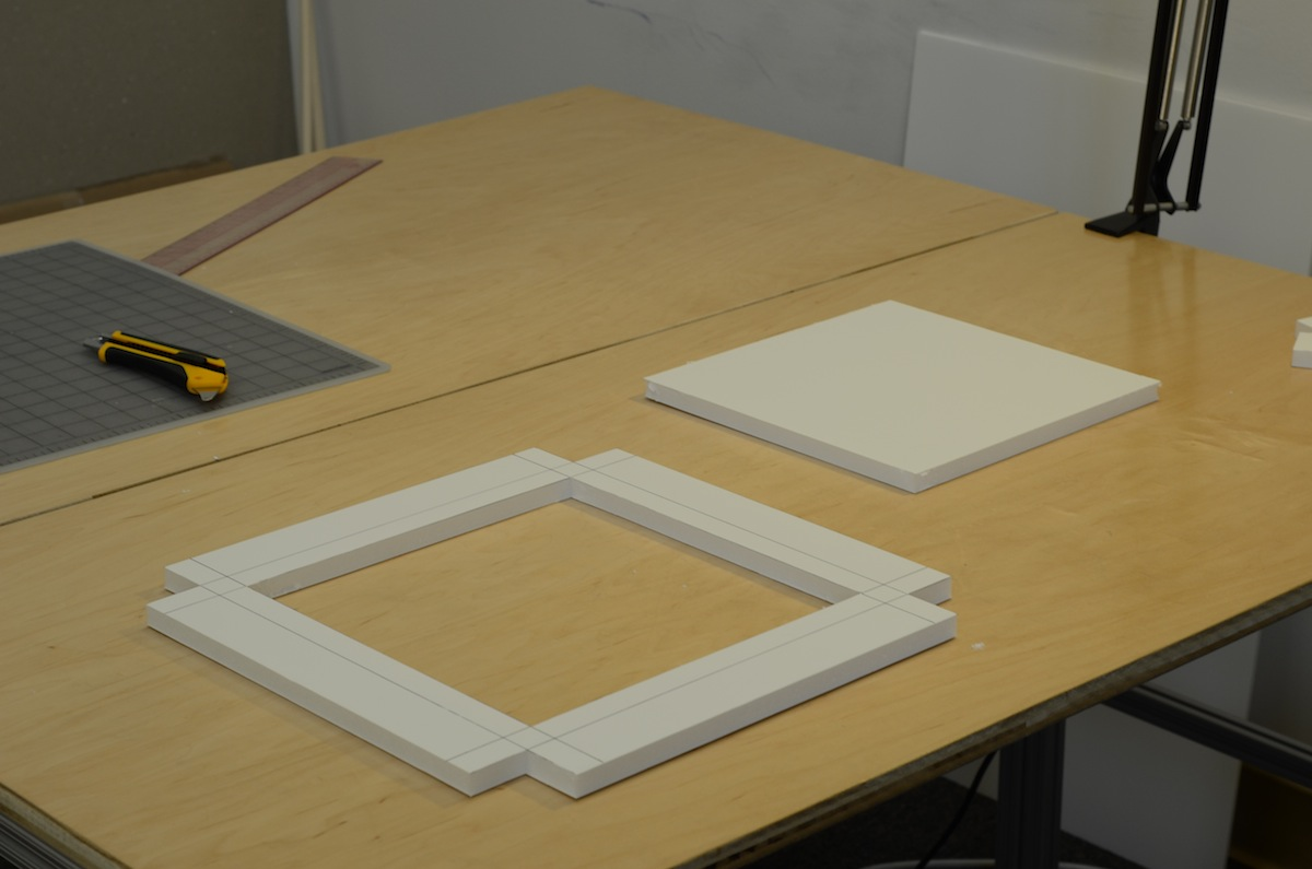 Picture of Cut Out the Top Plate and Table
