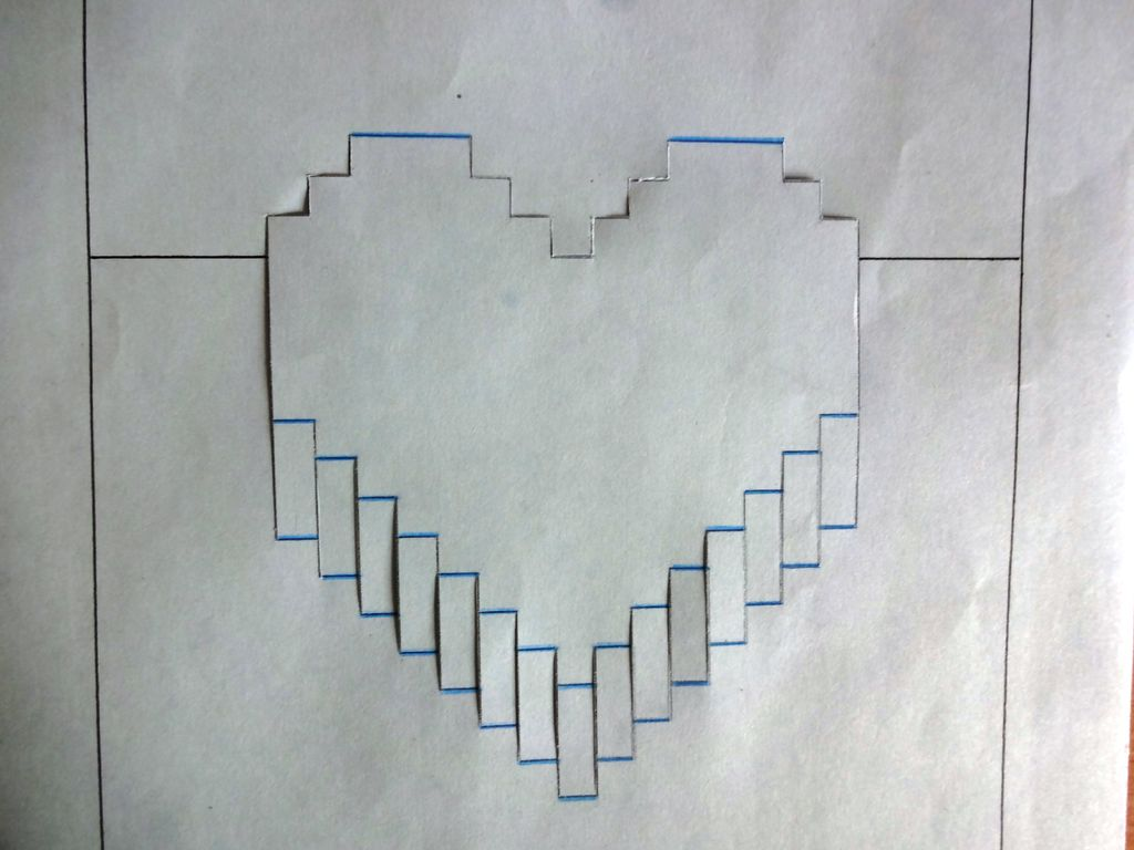Picture of Template and Cutting