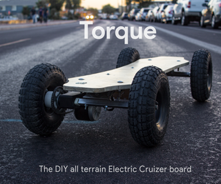 Torque: DIY All Terrain Electric Longboard