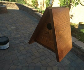 Timelapse Camera Birdhouse With Google Drive, Lodge-style