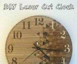 DIY Laser Cut Clock