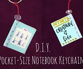 D.I.Y. Pocket-Size Notebook Keychain