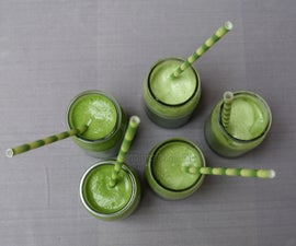 4-ingredient Green Smoothies