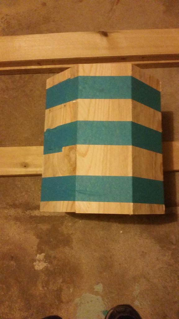 Picture of Step 5: Gluing the Boards to Form Octagon