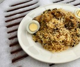 Hyderabadi Chicken Dum Briyani
