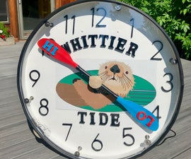 Giant Tide Clock