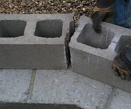 Geodesic Dome Greenhouse - Part 6 - Concrete Block Walls