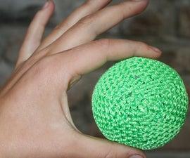 Crocheted Hackeysack/Juggling Ball