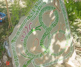 How to Carve a Rune Stone to Decorate Your Yard/garden