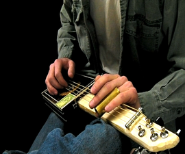 How to Make an Electric Cigar Box Guitar for $25