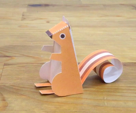 How to Make a Paper Chipmunk