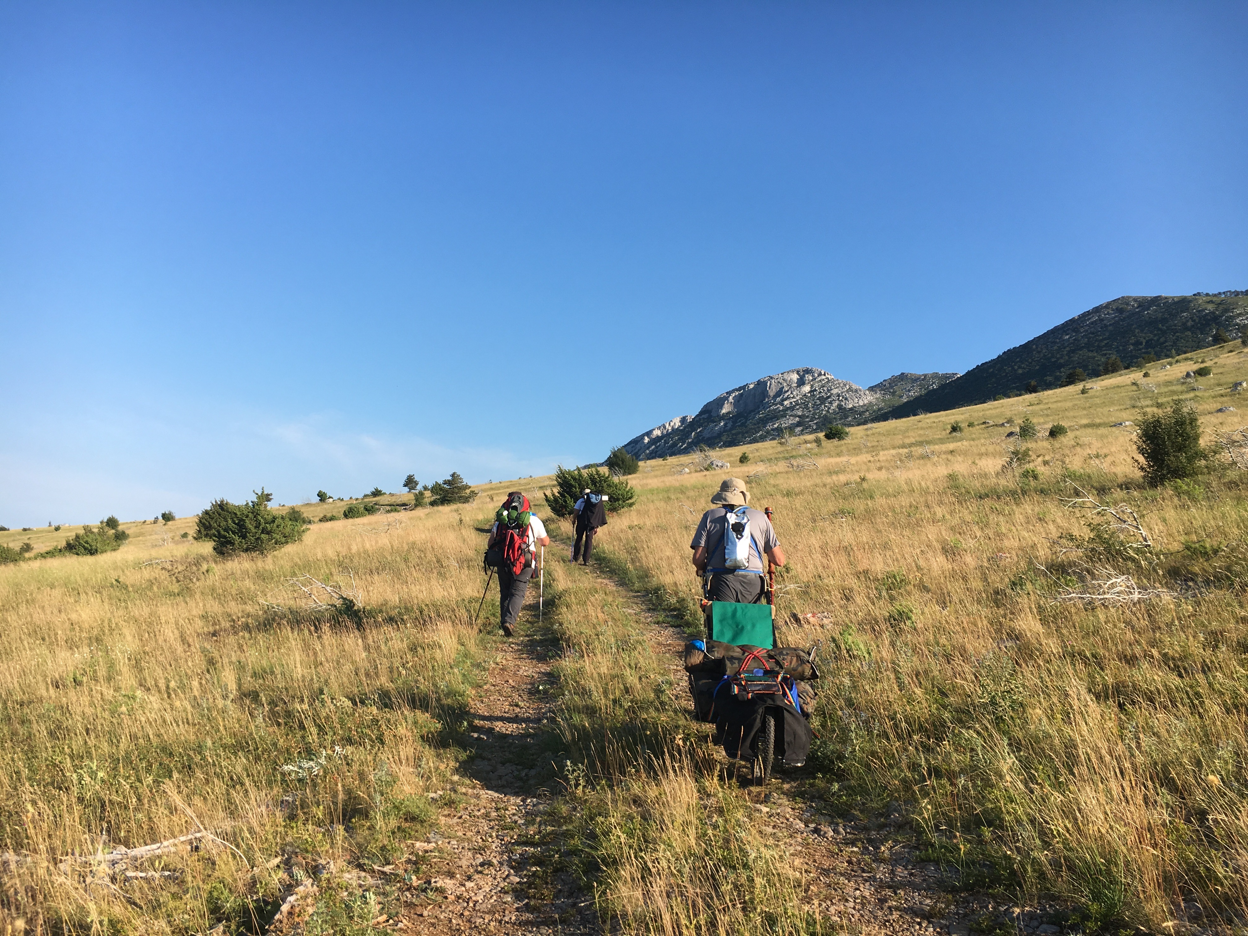 Picture of Test on Velebit Mountain 2016