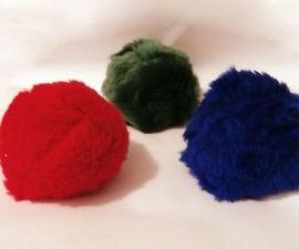 Fluffy Juggling Balls
