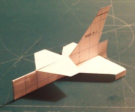 How To Make The Meteor Paper Airplane