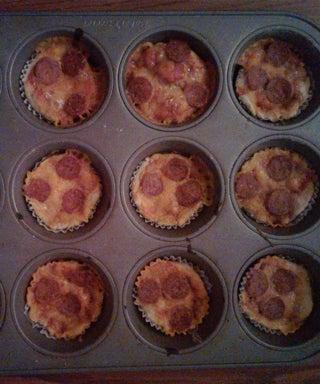 Baking Soda Pizza Dough (plus Pizza Cupcake Recipe)