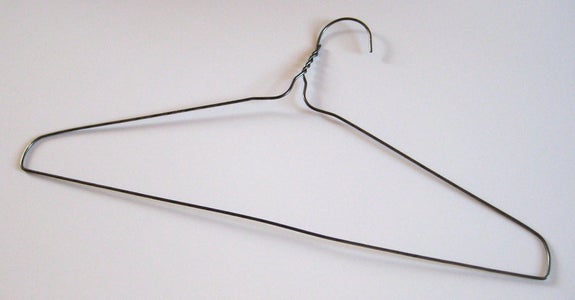 Bend a Coat Hanger Into Shape