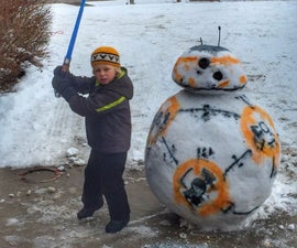 BB-8 Snowman, Star Wars