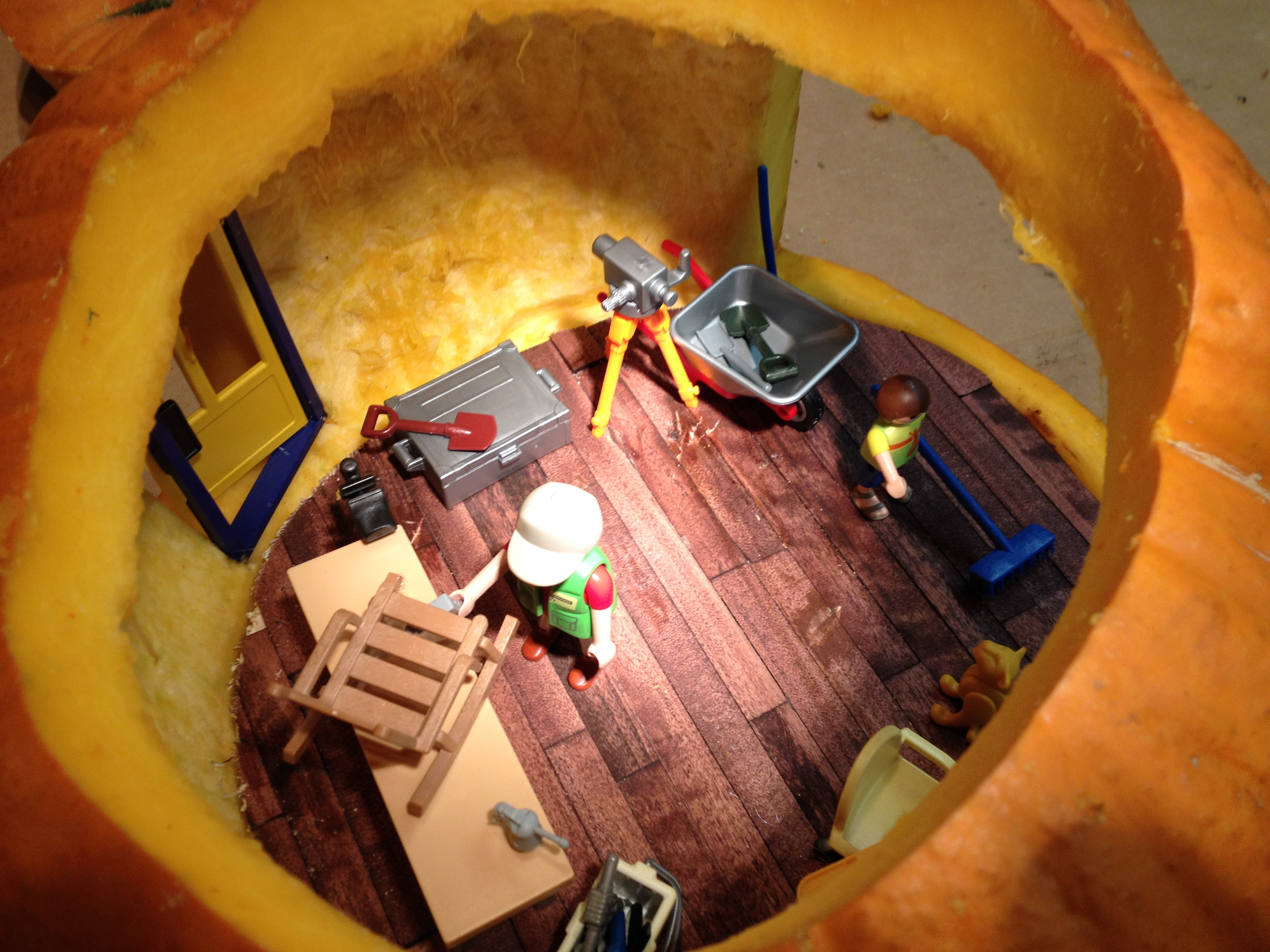 Picture of Carve the Pumpkin and Finish