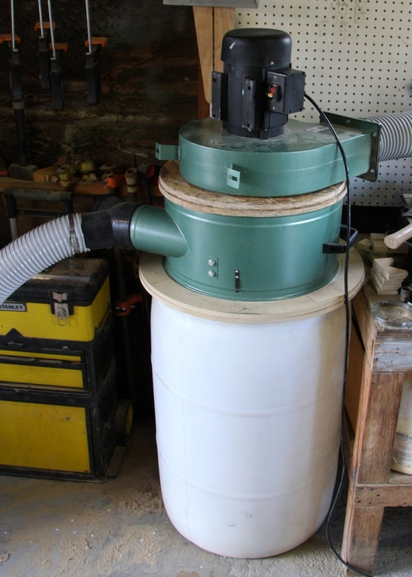 Making a Cyclone Chip Separator for a Dust Collector
