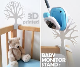 BABY TREE: 3D Printed Quick-Change Camera Mount for a Baby Monitor