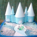 Diy Ice Castle Made From Plastic Containers