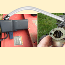 How to fix/replace a mower carburetor with household parts under $10
