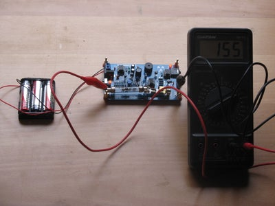 Adjusting the High Voltage