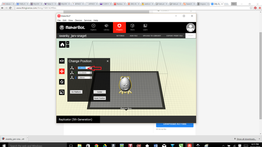 Functions Within Makerbot