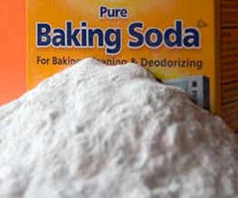 Baking soda - the magic kitchen powder.