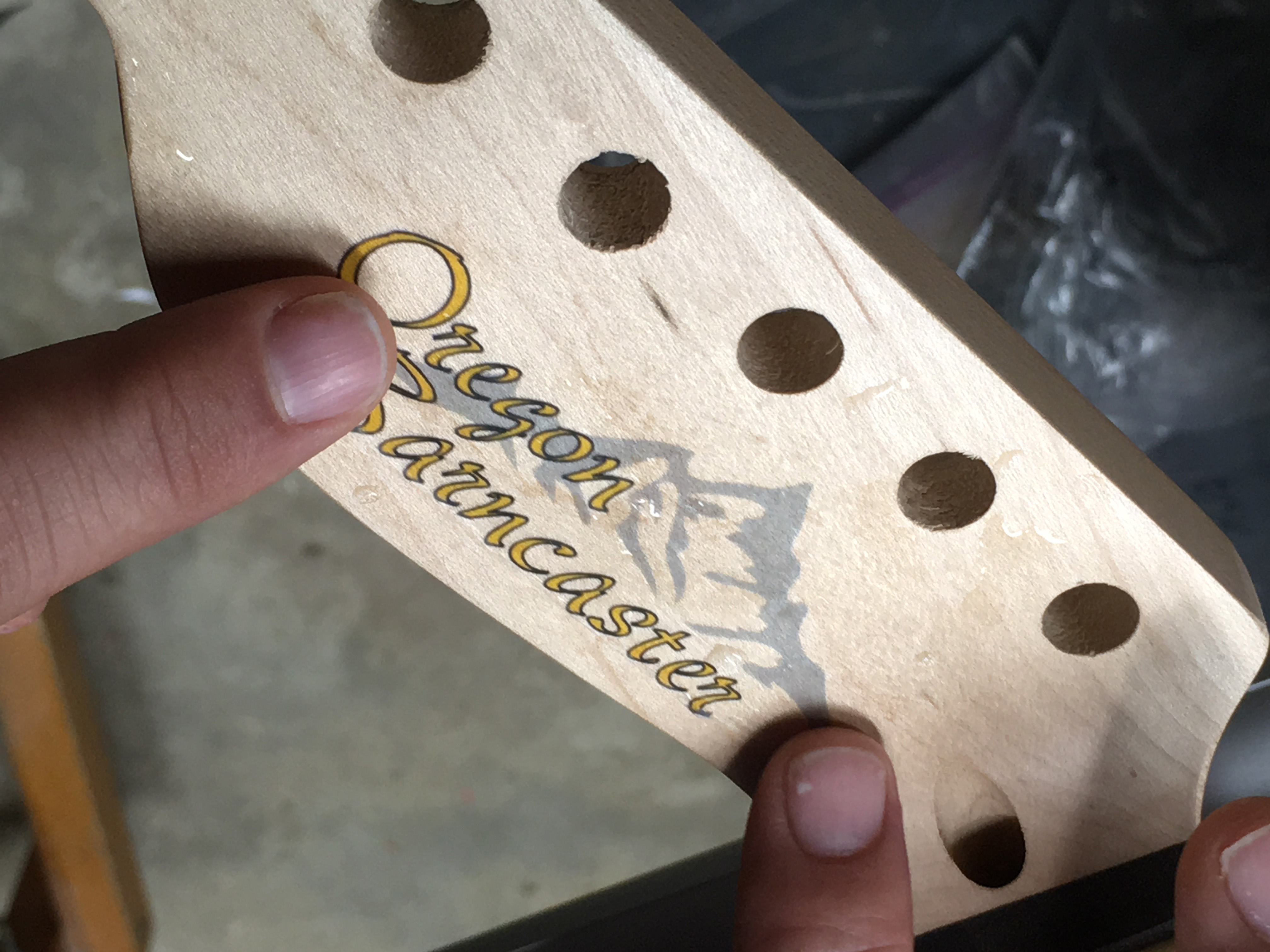 Picture of Headstock Decal