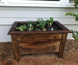 Simple Raised Herb Garden