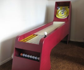 Homemade Skeeball Game