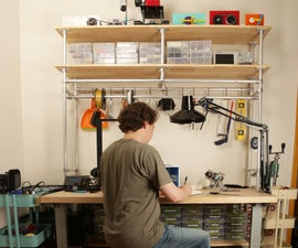 Workbench Shelves