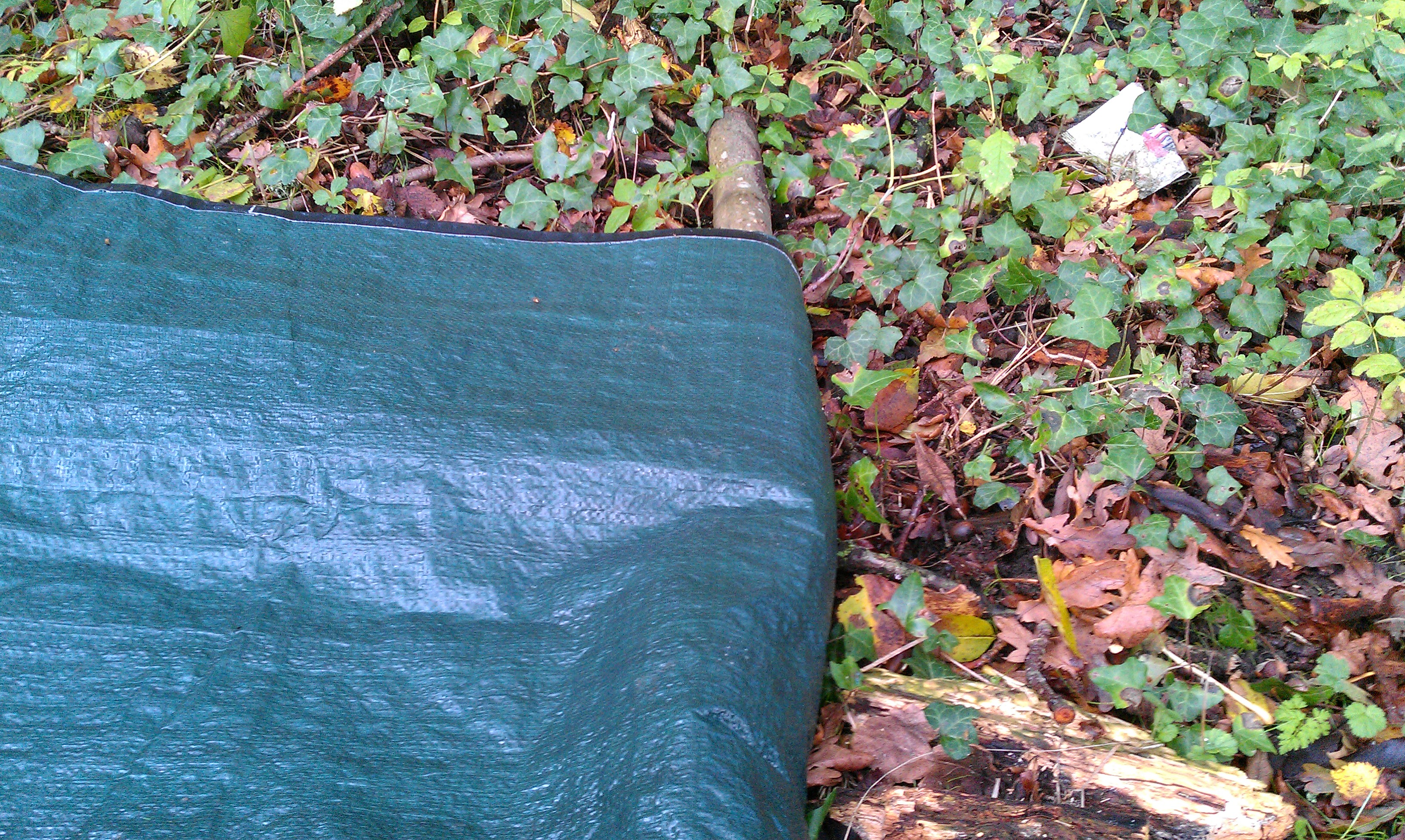 Picture of Roll Sticks in Tarpaulin