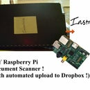 Raspberry Pi Document Scanner With Automatic Upload to Dropbox.