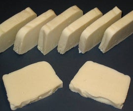 Make Soap at Home: A Simple Olive Oil Lye Soap - No Frills